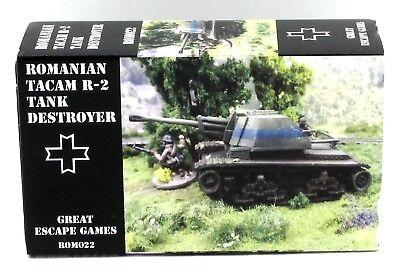 Summer Uniform Iron Cross ROM010 75mm Resita ATG Gun with Crew Romanian WWII
