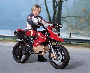 Moto électrique Ducati Hypermotard 12 V Peg Peg Perego Mc0015