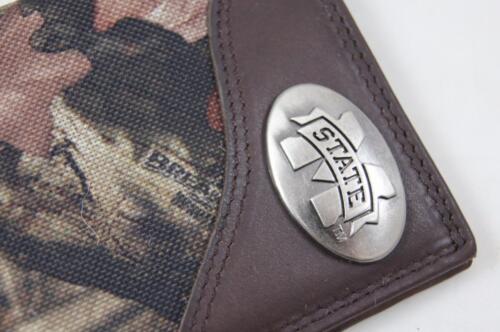 ZEP-PRO  Mississippi State Bulldogs Leather /& Nylon MOSSY OAK Camo WALLET NO BOX