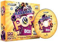 Zoom KARAOKE POP BOX 1-KARAOKE PARTY PACK, 6 CDG 120 CANZONI