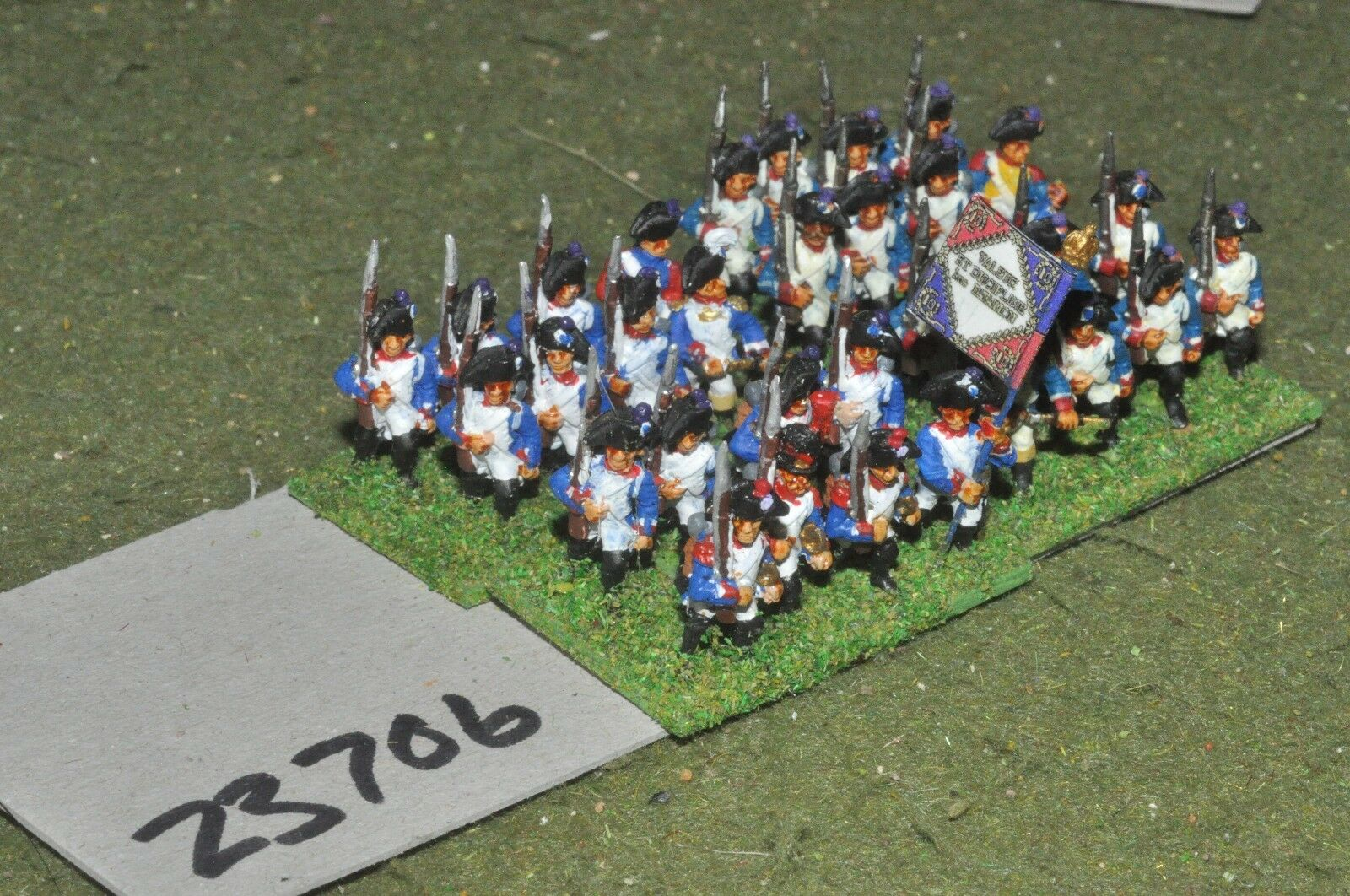 15mm napoleonic   french - line 32 figures - inf (23706)