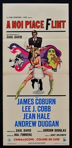 Cartel-En-Noi-Like-Flint-James-Coburn-Jane-Hale-Agente-Secreto-007-Spy-L154
