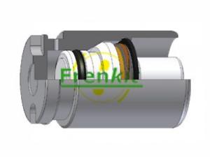 Bremssattel für Bremsanlage Hinterachse FRENKIT K385101 Kolben
