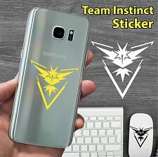 """2"""" Pokemon Go Team INSTINCT Vinyl Decal Sticker samsung iphone s6 s7 ipad Zapdos"""