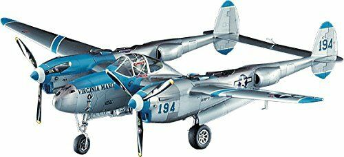 Hasegawa 1//48 US Army P-38J Lightning Virginia Plastic JT1 Marie