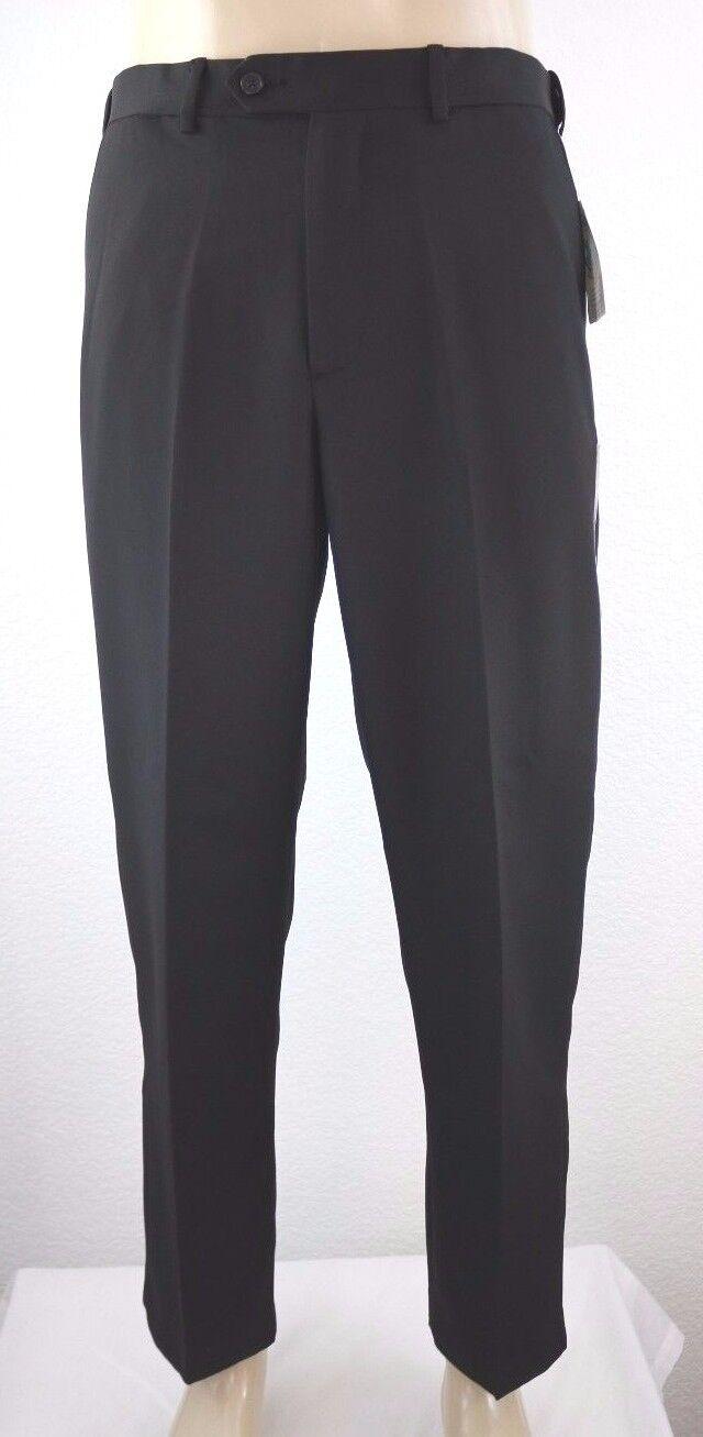 NEW Croft & Barrow Classic Fit No Iron Microfiber Sorbtek Men's Flat Pant 32x30