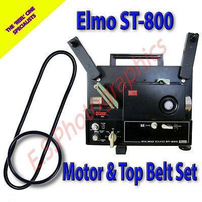 Cine projector 2 belts for ELMO ELMO ST-1200D NEW durable long lasting .B07//002