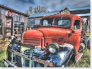 Image Is Loading OLD TRUCK Count The Memories Not Miles