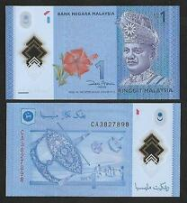 2012 MALAYSIA RM1 POLYMER BANKNOTE (UNC)