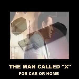 ENJOY THE MAN CALLED X IN YOUR CAR OR HOME.  111 ESPIONAGE OLD TIME RADIO SHOWS!