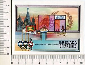 36714) Grenada Grenadines 1980 MNH Olympic Games