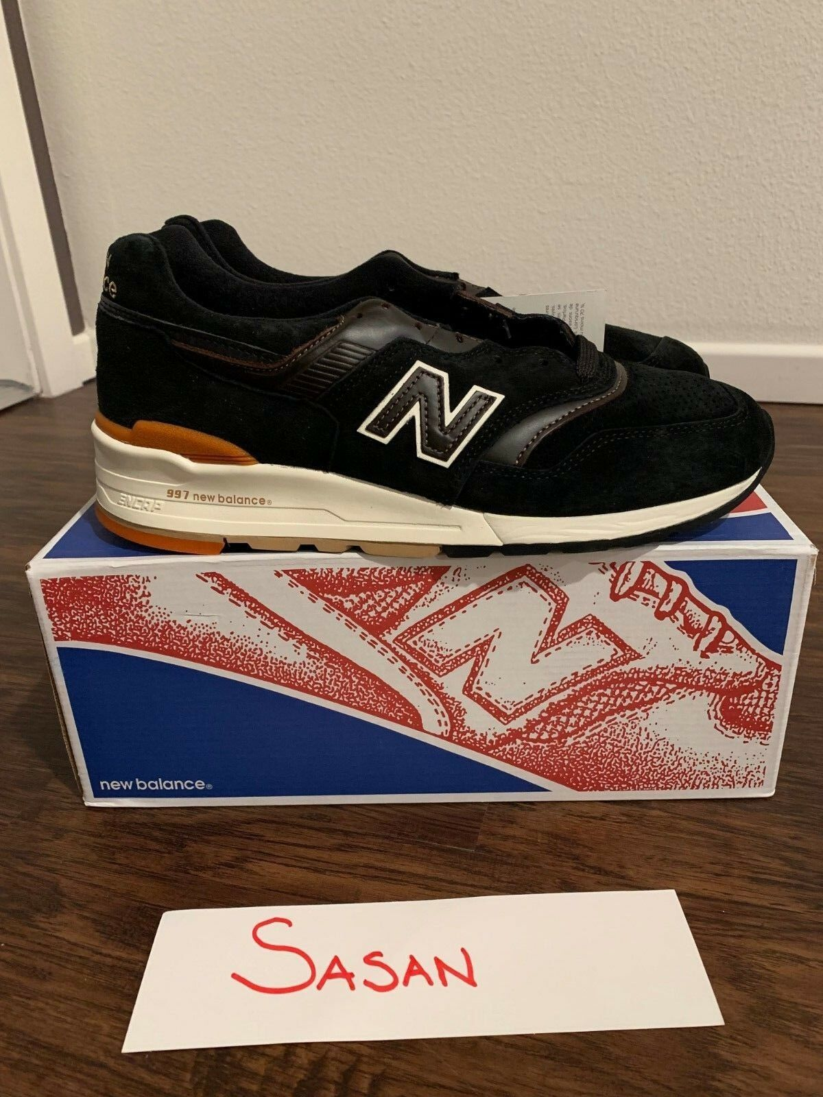 New Balance 997 M997PR  Distinct Authors  Size 8.5 Brand New 100% Authentic