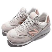 New Balance WL574CHC B Grey Gold Women Running Shoes Sneakers Trainers WL574CHCB
