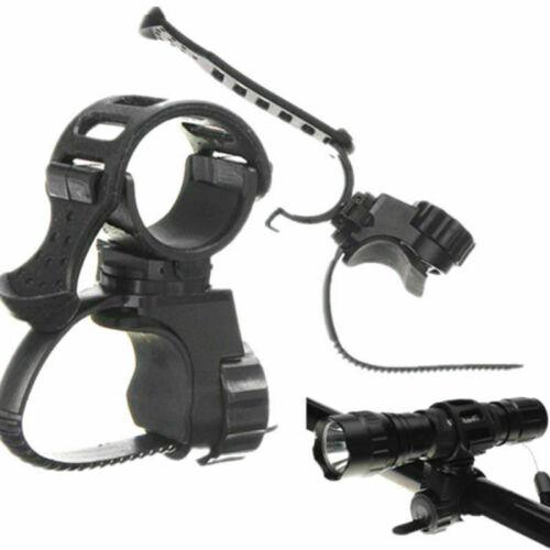 360° Universal Fahrrad Lenker Halterung Taschenlampe Halter Universalhalter X1F0
