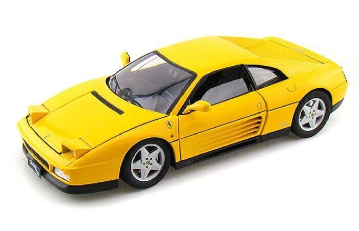 di moda 1 18 Ferrari 348 TB 1989 1 18 • • • Caliente Ruedas V7437  bellissimo