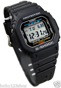 G 5600E 1D Negro Relojes Casio Para Hombre Banda Resina 200m