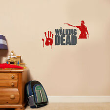 The Walking Dead Zombies Wall Decal Vinyl Sticker For Room Home Bedroom Car