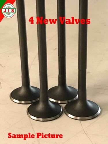 4 of Fit Toyota 87-94 Tercel 1.5L 3E 3EE SOHC 12V L4 Engine Exhaust Valves TEV3E