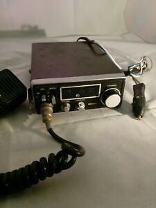 Details about Vintage Sharp 23 Channel CB Radio Transceiver Model CB-800 a  made in japan