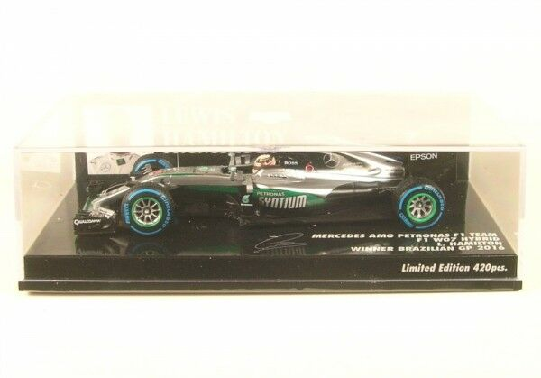Mercedes AMG f1 team w07 Hybride No. 44 Winner Brazilian GP FORMULA 1 2016 (Lewis