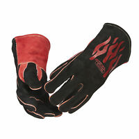 Lincoln Traditional Mig Stick Welding Gloves K2979-all