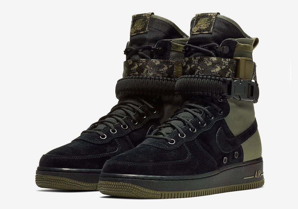New NIB NIKE Men's SF-AF1 High AIR FORCE 1 Military BOOTS shoes 864024 004