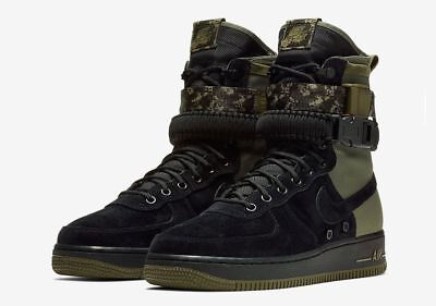 180 New Nib Nike Men S Sf Af1 High Air Force 1 Military Boots Shoes 864024 004 Ebay