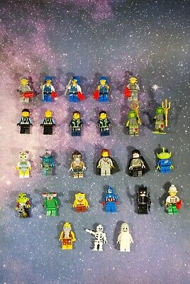 Pick 1 or More:Space /& Race Car Lego Minifigures minifigs mini figures mini figs