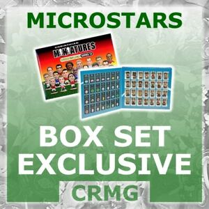 CRMG Corinthian MicroStars BUNDESLIGA BOX SET GERMAN GERMANY (like SoccerStarz)
