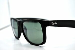 0b21c75fbefb9 Ray-Ban-Justin-4561-601-71-3N-Matte-Black-Sunglasses-New-Authentic ...