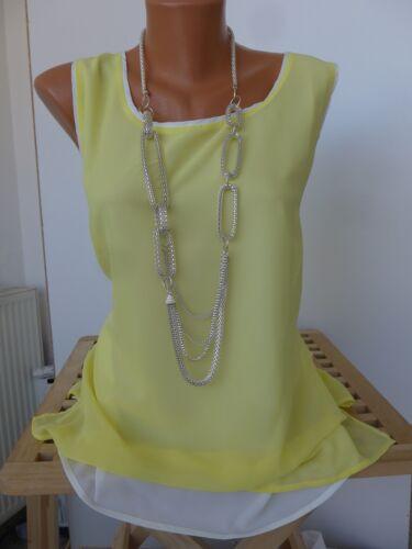 162 36-46 Kurzarm 2 in 1 Effekt NEU Travel Couture Bluse Shirt Gr