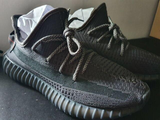 Adidas Yeezy Boost 350 V2 Black non reflective UK 6.5
