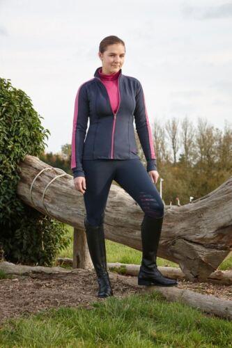 Dublin Valeria Fermeture Éclair Moisture Wicking AIRFLOW VENT NOUVEAU exercice Sweater