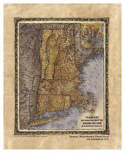 034-Vermont-Massachusetts-Rhode-Island-and-Connecticut-1858-034-Lisa-Middleton-Map
