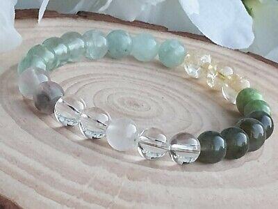 PCOS bracelet Fertility Libido Emotional balancing Carnelian Fluorite Moonstone