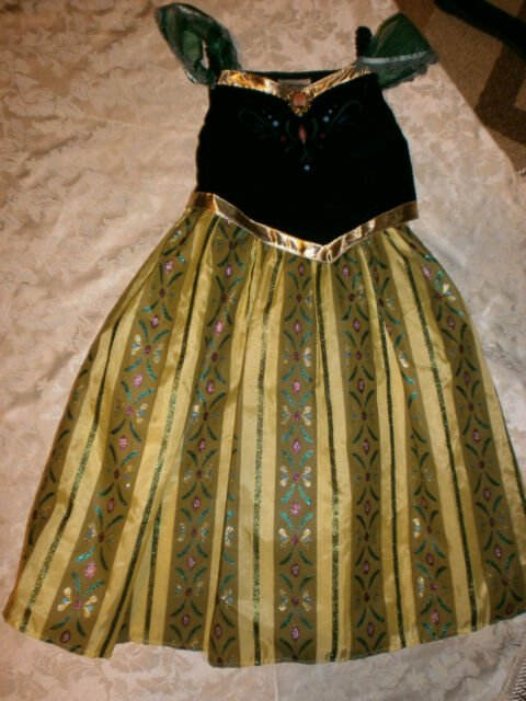 DISNEY PARKS World Frozen Princess ANNA Coronation Dress ...