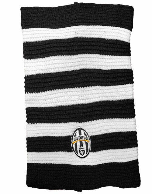 1 Halsband FC Juventus Bianconero Offiziel Official Wolle Juve Sehr Billig