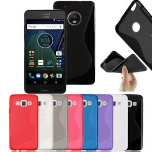 S Line Soft Silicon Gel Case Cover For Motorola Moto G7 Power Play G5 G4 G3 Ebay