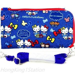 cf296e5ad Image is loading Hello-Kitty-Long-Wallet-Passport-Holder-Travel-Document-