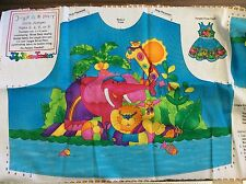 "JELLY BEAN JUNCTION ""JUNGLE RIVER PARTY"" GIRLS BODICE ONLY SIZE 2,4,6,8  UNCUT"