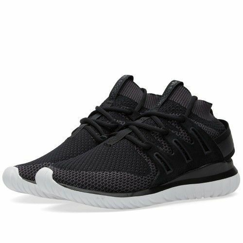 MEN'S ADIDAS ORIGINALS TUBULAR NOVA X PK PRIMEKNIT SHOES BLACK *NEW*