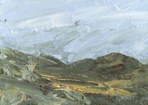 Welsh-Mountains-ORIGINAL-LANDSCAPE-PAINTING-Wales-Steve-Greaves-Art-Kyffin