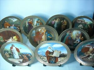 Choose ONE OR MORE Plates TEN COMMANDMENTS Danbury Mint Plate Mary Mayo