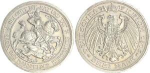 Preusen-3-Marco-Mansfeld-1915-a-Excelente