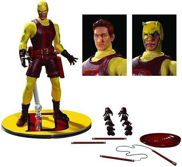 Previews EX DArougeEVIL  Classic VARIANTE  ONE 12 action collective Figure MEZCO