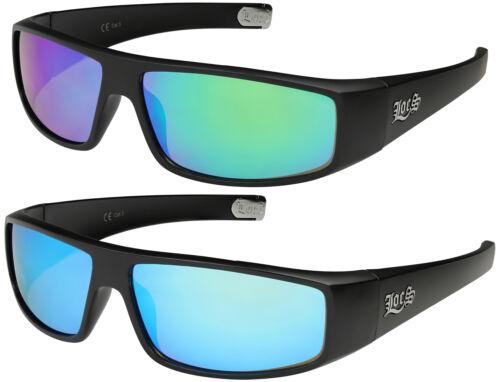 2er Pack Locs 9035 Choppers Sportbrille Sonnenbrille Männer Frauen verspiegelt