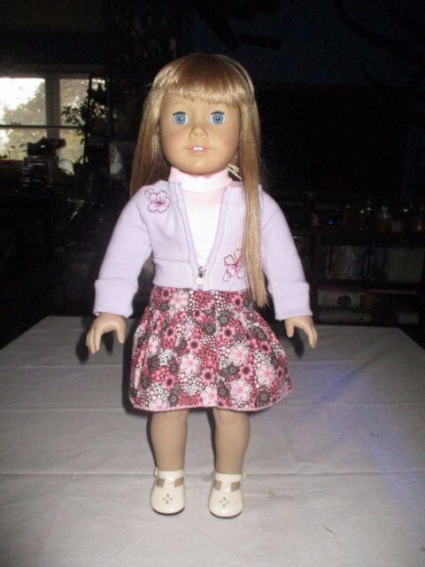 american girl doll just like me blonde hair blue eyes ebay