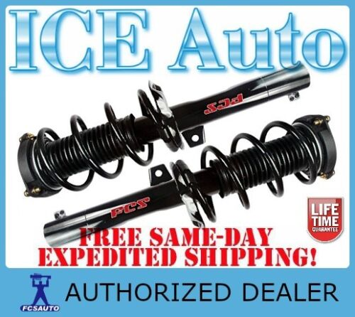 FCS Complete Loaded FRONT Struts /& Springs fits 2008-2014 VOLKSWAGEN EOS 1F7 1F8