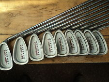 USED FASER CONTENDER IRONS, 3 - SW WITH FREE 5 WOOD, IDEAL STARTER SET