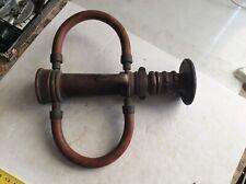 Vintage Elkhart Brass Fire Nozzle Pat 2089304